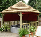 Garden Hot Tub Gazebos